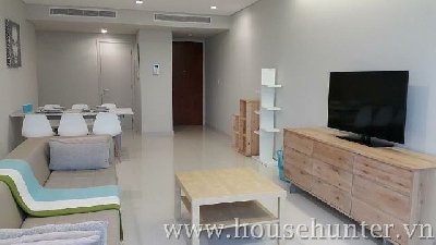 2 bedroom with nice furniture in City Garden
