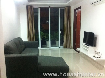 Apartment on Nguyen Huu Canh st, 1 bedroom with a balcony