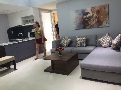 Brand new 3 bedroom in Masteri for rent