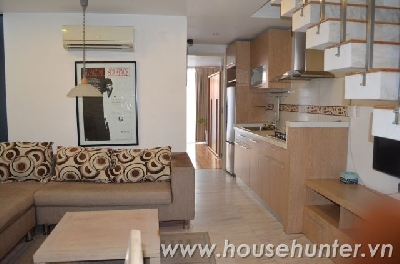 Duplex 2 bedroom service apartment in Binh Thanh district