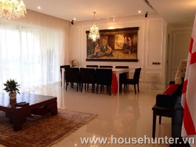 Estella modern design and western style three bedroom apartment in district 2
