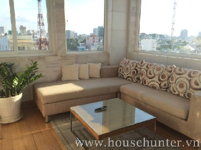 Serviced apartment for rent in Binh Thanh district, next to dsitrict 1.