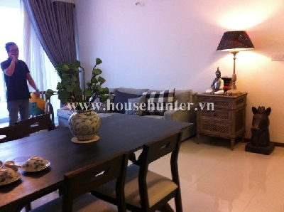 Nice 2 bedroom Thao Dien Pearl, fully furnished and balcony