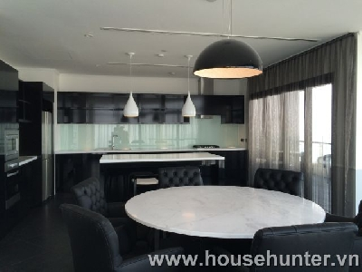 Penthouse City Garden, great view and luxury furniture