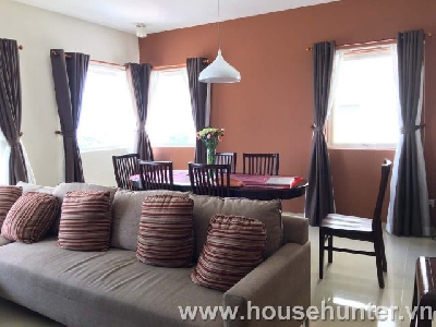 River Garden 3 bedroom fully furnished in Thao Dien